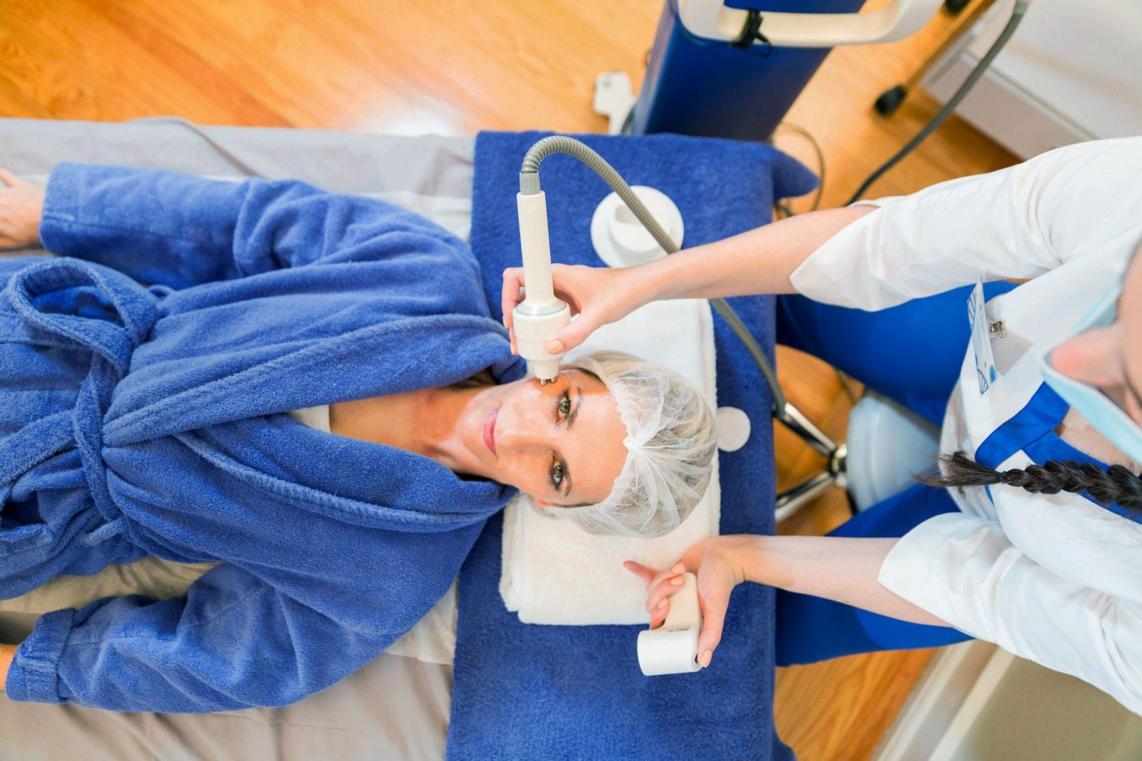 BodyScience, tratamentos, Radiofrequência Tripolar Cronus Rosto