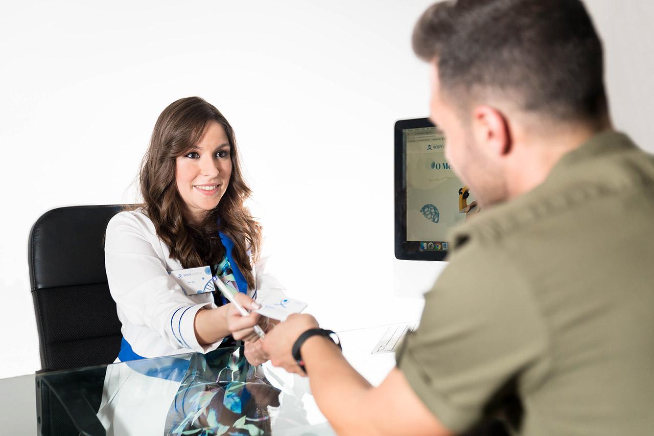 BodyScience, tratamentos, Consulta de Avaliação